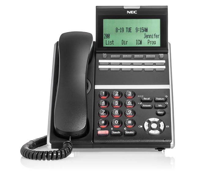NEC Telephone Systems for Business in Charlotte North Carolina and South Carolina region - SV9100_DT400_12_Btn_Ph-front