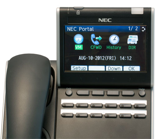 NEC Telephone Systems for Business in Charlotte North Carolina and South Carolina region - DT730_12button_lcd_2_lg